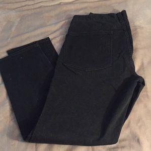 J. Crew Jeans - J. Crew toothpick black denim jeans- 30